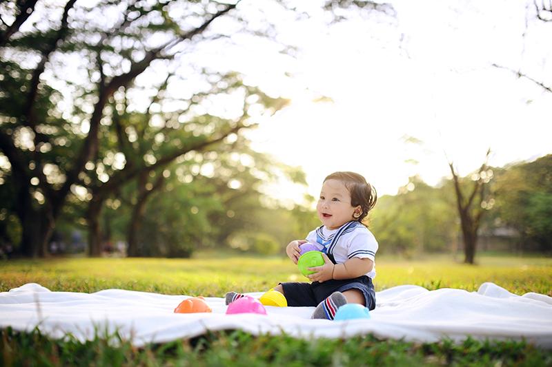 baby outdoor